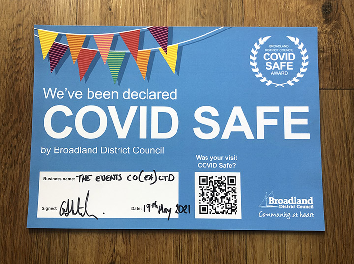 COvid Safe 2 small